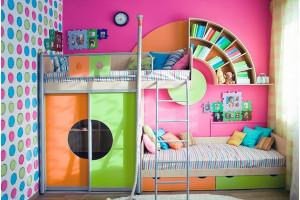 Как обустроить комнату для двоих детей?