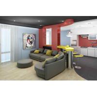 Дизайнерский ремонт квартир от 10000 за кв.м.